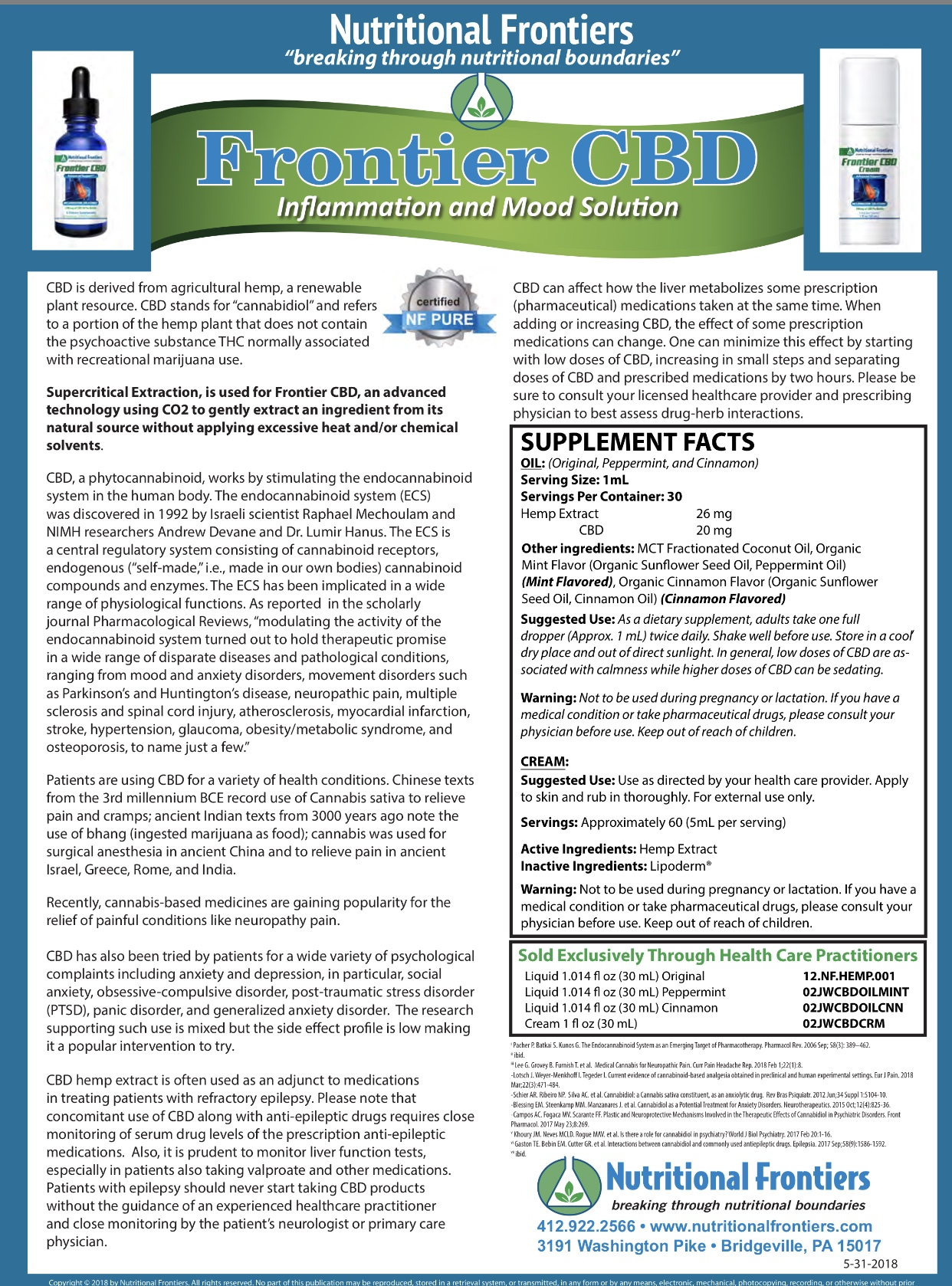 CBD | Optimal Health & Wellness Chiropractic & 24hr Fitness